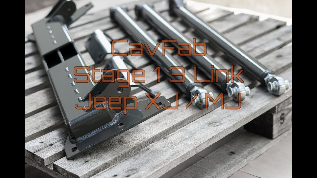 Product Highlight: CavFab Jeep XJ / MJ Stage 1 3 Link Long Arm (CrossMember  Construction)