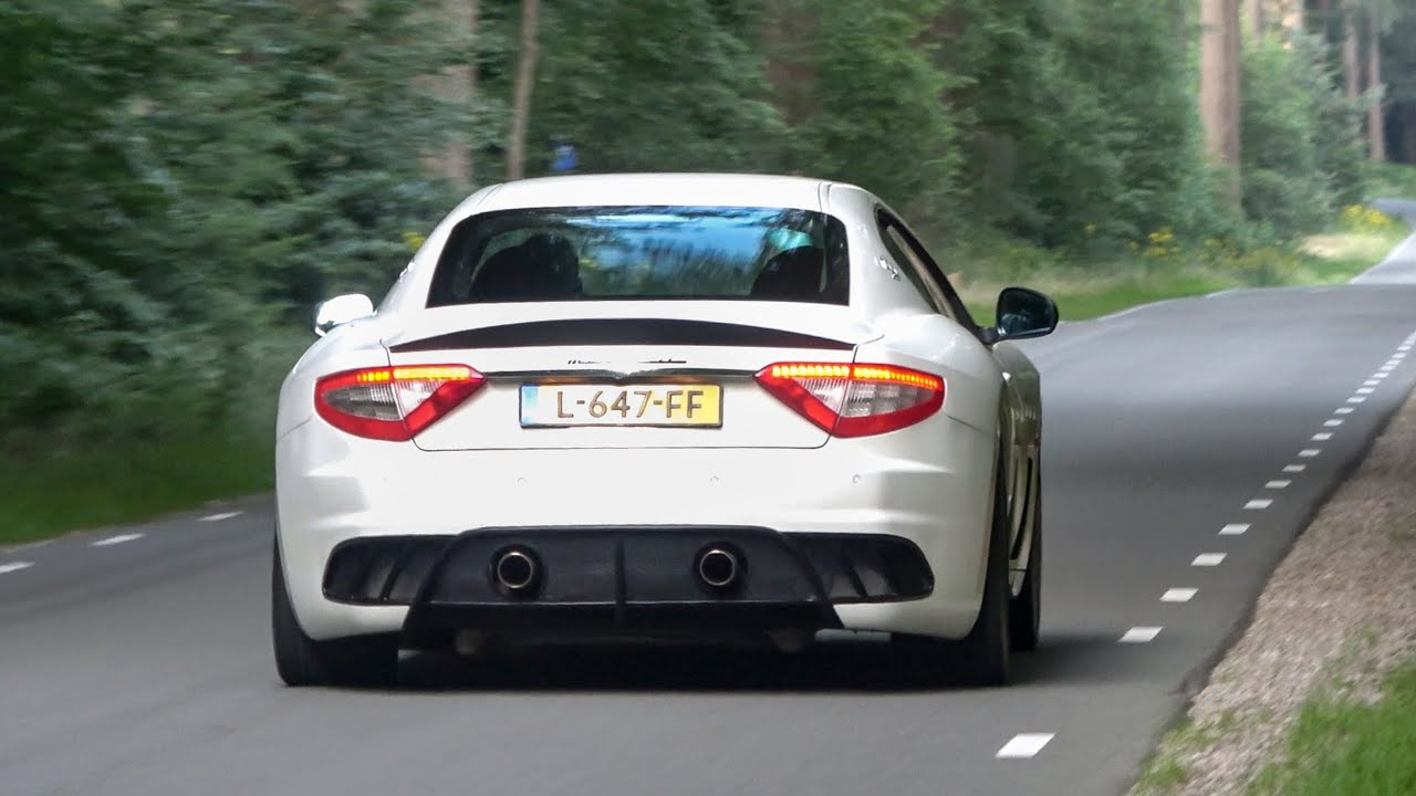 Maserati MC Stradale PURE SOUND - Revs, Accelerations, Downshifts, Onboard, Gopro At Exhaust!
