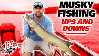 The Ups and Downs of Musky Fishing.