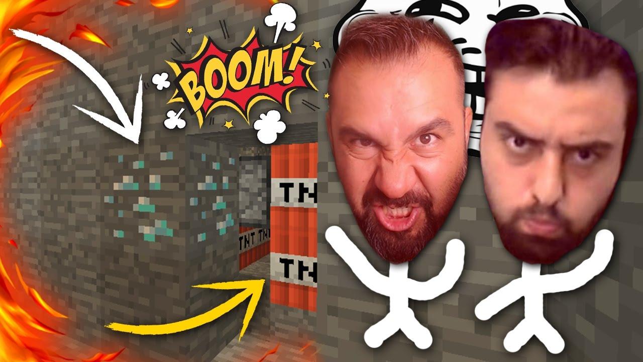Download TNT'Lİ DİAMOND TROLL ! :D - EKİP Minecraft ÖĞRENİYOR #4