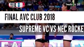 Chatchuon moksri /FINAL/ AVC CLUB 2018 / Supreme vc vs Nec Rockets