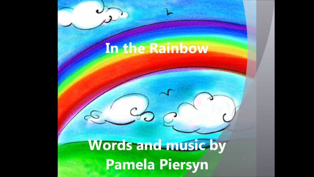 in the rainbow song best rainbow song for preschool youtube