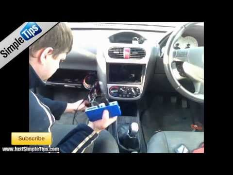 How to Install a Parrot Handsfree Kit into a Vauxhall