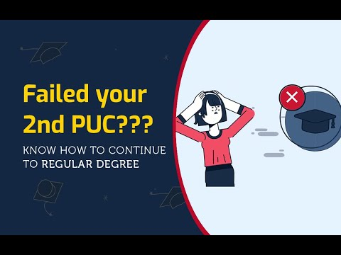 2nd PUC/12th Exam Failed Students - What Next? | Start Degree