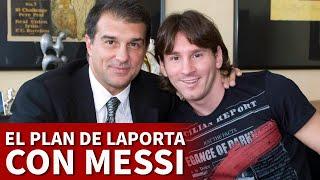 BARCELONA | MESSI y el plan de LAPORTA para que se quede | DIARIO AS