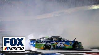 Final moments of Kyle Larson's 1 million dollar All-Star payday | NASCAR ON FOX