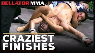 Top Craziest Finishes | Bellator MMA