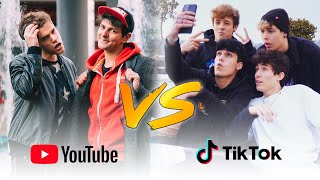YOUTUBE VS TIK TOK - LA SFIDA - iPantellas & Q4