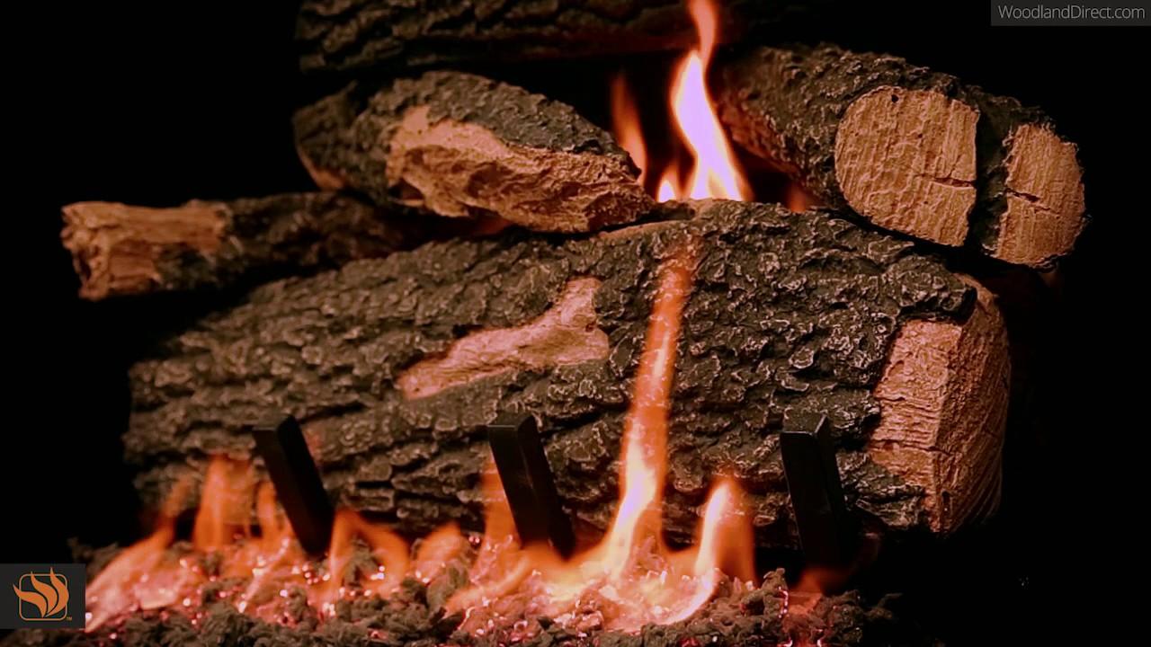 Golden Blount Big Tex Gas Log Set Youtube