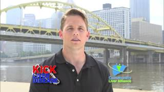 Community Liver Alliance Kick Liver Disease with Shaun Suisham and Millie.