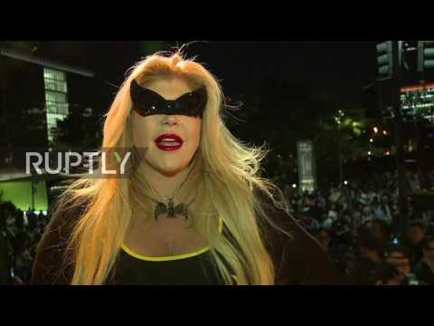 USA: Fans flock to LA to honour late-Batman superstar Adam West