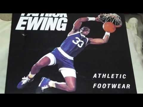 Unboxing of Black, Purple and Teal Patrick Ewing Retro Shoes