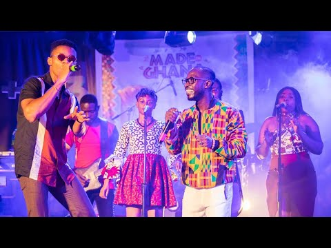 "KiDi & Okyeame Kwame Perform at the ""Made In Ghana"" Album Launch"