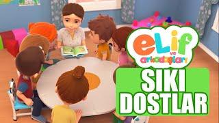 Elif ve Arkadaşları - Bölüm 23 - Sıkı Dostlar - TRT Çocuk Çizgi film