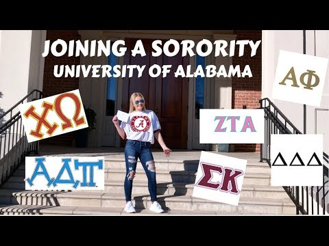I joined a sorority at The University of Alabama | My Spring Rush Experience + Outfit!