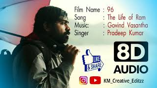 The Life Of Ram Vijay Sethupathy  (Movie : 96) Singer : Pradeep Kumar ~ Music by : Govind Vasantha
