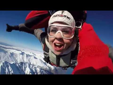 My Nzone Skydive From 15,000ft Above Beautiful Queenstown, NZ