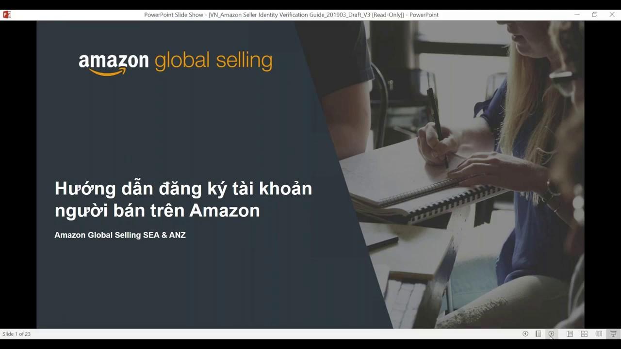 Hướng dẫn đăng kí tài khoản Amazon chi tiết – Emily Global Selling