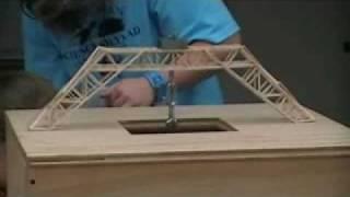 Science Olympiad Regionals 2/14/09 - Elevated Bridge Test