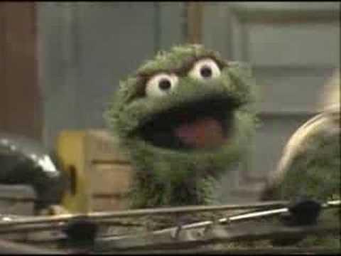 Sesame Street I Love Trash