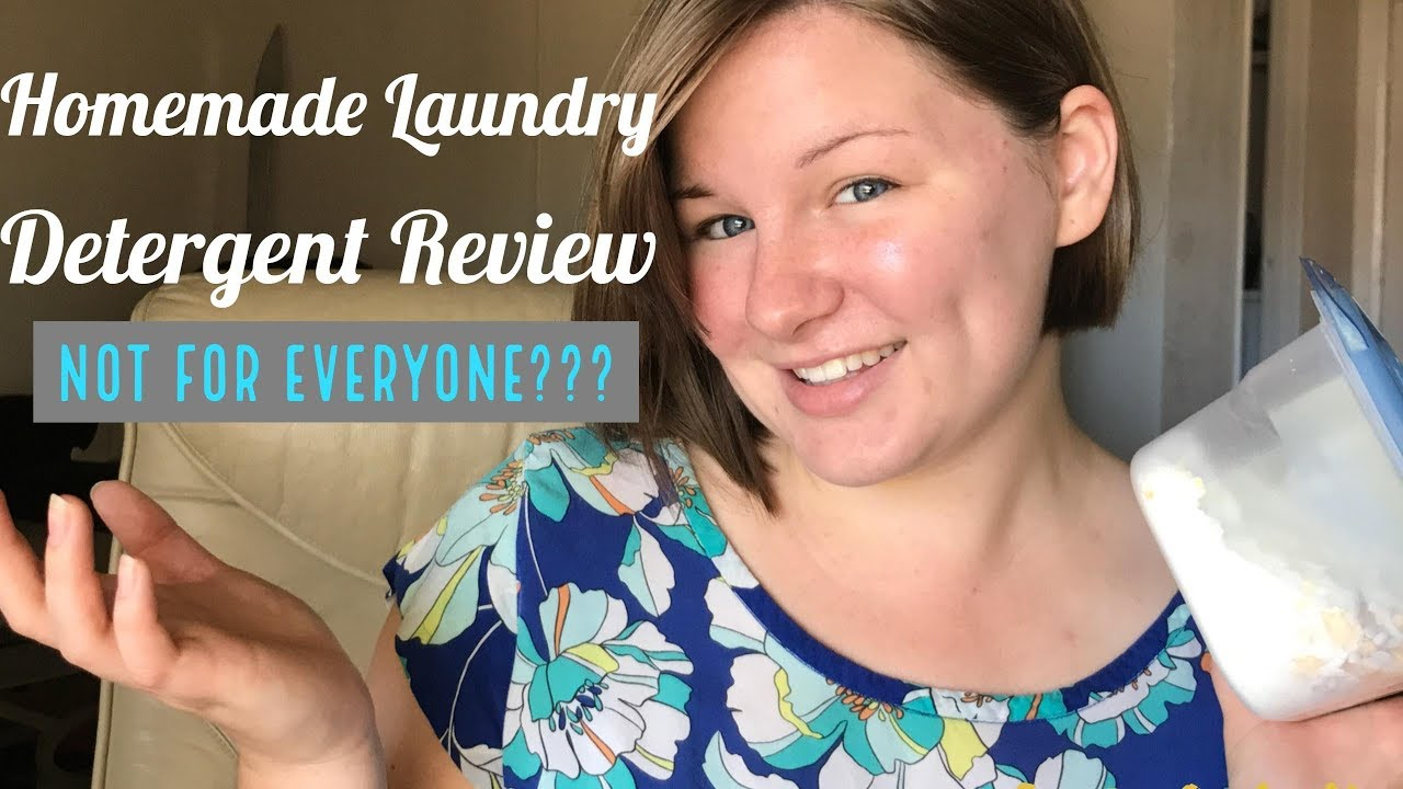 DIY Homemade Laundry Detergent Review