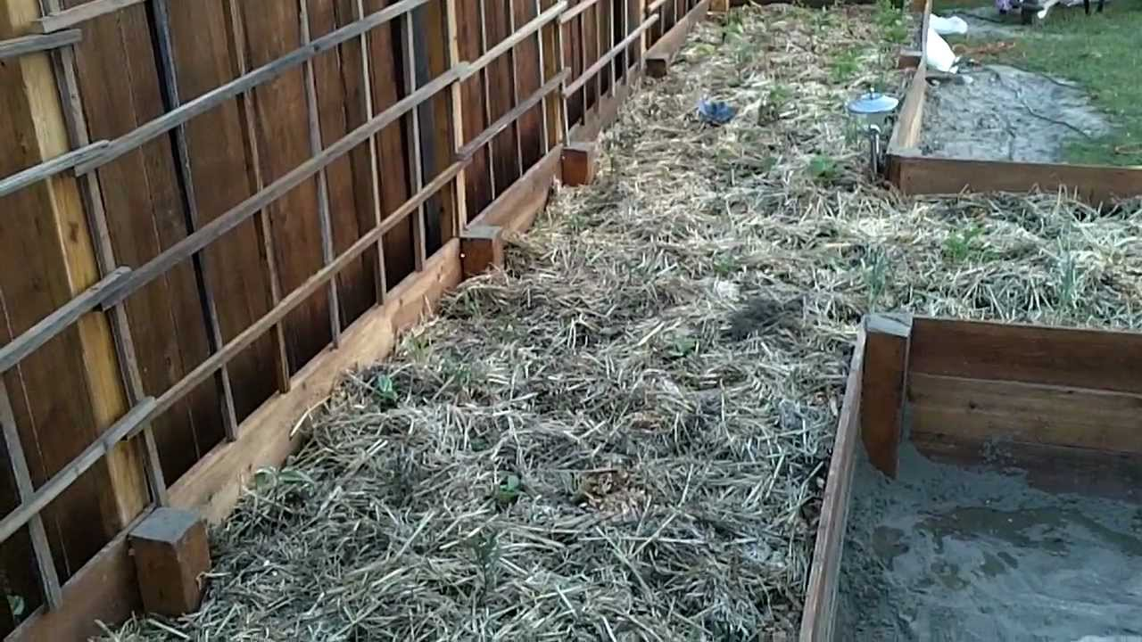Building a garden trellis (45 foot long) - Part 1 - YouTube