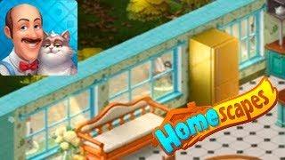 HomeScapes Дворецкий #29 (уровни 163-168) Новые Кухонные Окна Игровой Мультик Let's Play
