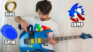 Sonic sounds on guitar