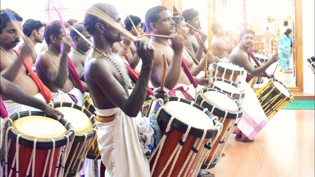 Amazing Chenda Melam Performance