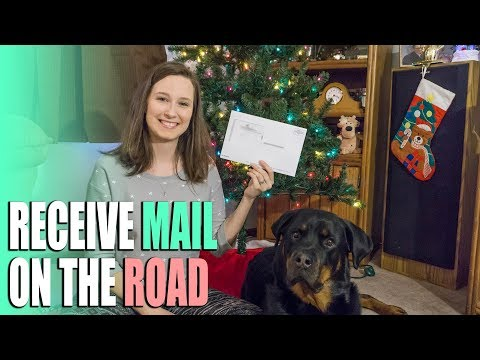 How to Receive Mail on the Road - Mail Forwarding & State Residency for Full Time RVes