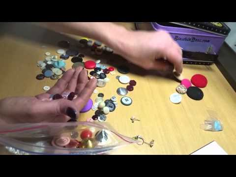 #45 ASMR Sorting Buttons! Silent