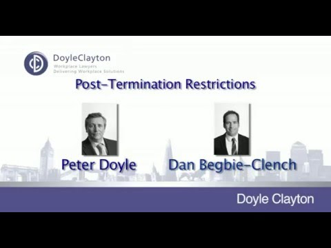 Post termination restrictions: When employers get it wrong