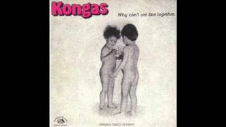 Kongas - Why Can't We Live Together (E-Edit)