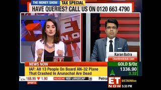 ET Now Live: Advance Tax Queries with Karan Batra