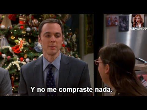 The Big Bang Theory - Sheldon le da un regalo de navidad a Amy subtitulado