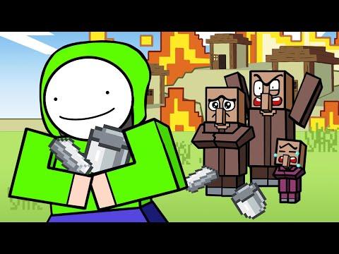 Minecraft Speedrunner Logic   Cartoon Animation