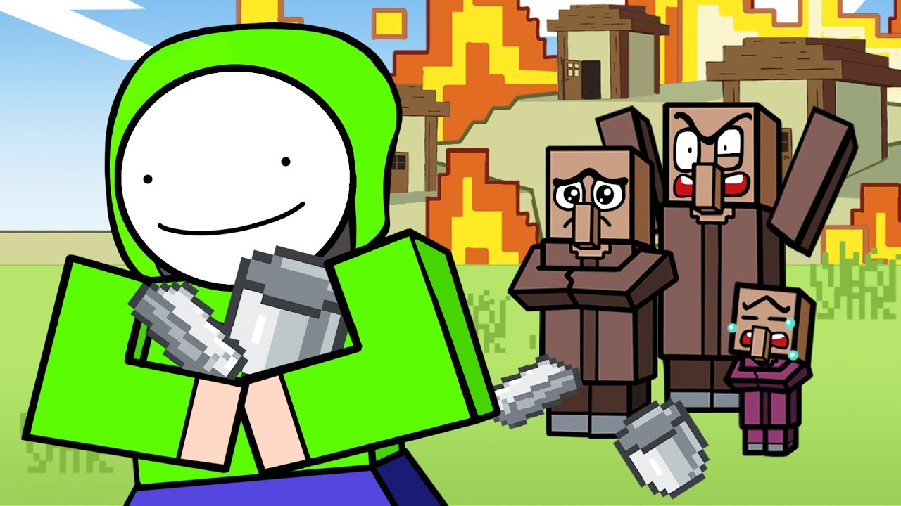 Minecraft Speedrunner Logic | Cartoon Animation