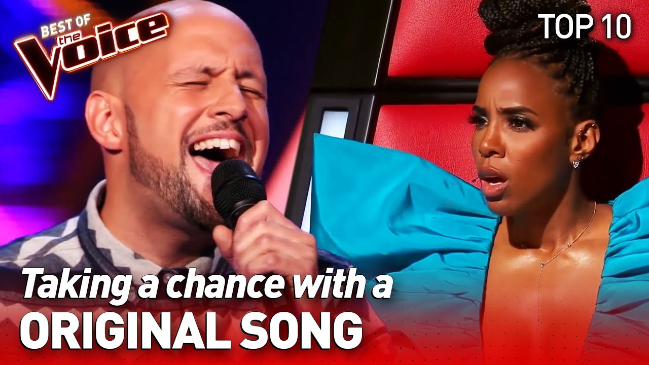 Incredible ORIGINAL SONGS in the Blind Auditions | TOP 10