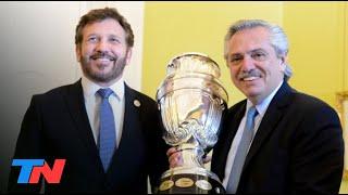 SE SUSPENDIÓ LA COPA AMÉRICA   La CONMEBOL informó que el torneo no se jugará en la Argentina