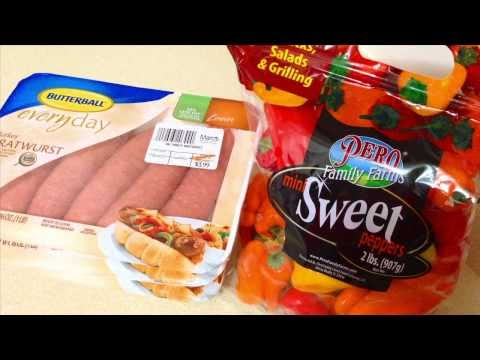 Simple Weight Loss Meal: Turkey Sausage & Sweet Peppers   Phenom Fitness