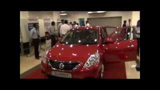 The launch of the latest Nissan Sunny!