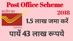 post office savings scheme 2018 Hindi ! PPF(Public Provident Fund) Scheme !