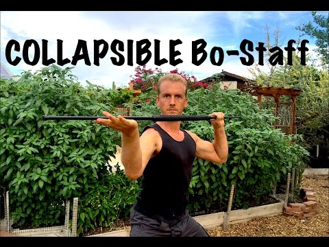 Collapsible BO STAFF Fighting - Amazing!