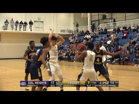 High School Boys Basketball: Columbia Heights vs. Fridley; Section 4AAA semifinal
