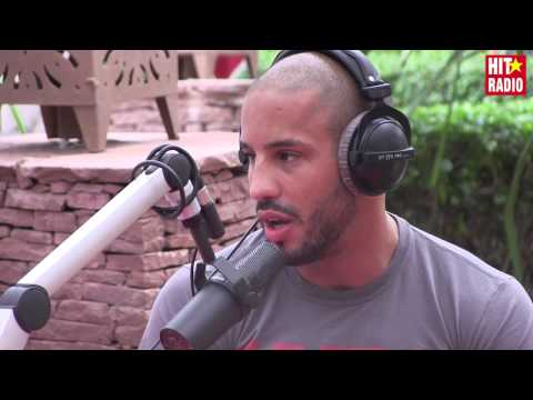 Abu Bakr, champion MMA, dans le Morning de Momo au Marrakech du Rire 2015 sur HIT RADIO