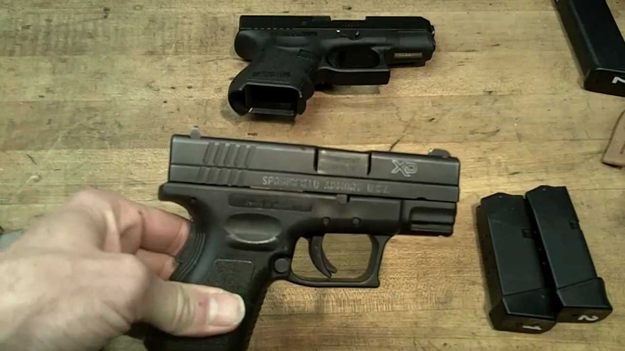 Baby Glock Vs Springfield Xd Subcompact Pt 1 Of 3 Youtube