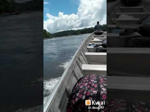 Pilotos de Cachoeira Oiapoque Brasil fronteira