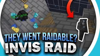 This faction went RAIDABLE when we were trying to invis raid them... | Minecraft HCF