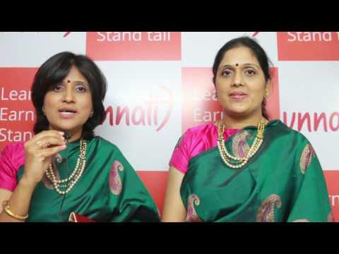 UTSAV - 2017, Priya sisters talking about there performance at Unnati Bangalore