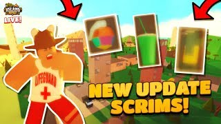 HOSTING SCRIMS LIVE in ISLAND ROYALE! 🔴 |🌴Roblox Island Royale🌴|